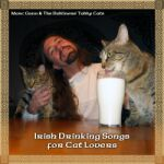Irish Drinking Songs for Cat Lovers - Dancing Celtic Cat CD Swag